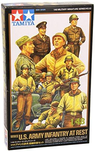 1/48 アメリカ歩兵 前線休息