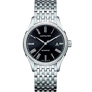 [ハミルトン]HAMILTON 腕時計 Valiant auto(バリアント オート) roman BLK metal H39515134 メンズ 【正規輸入品】