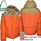 Down Sierra Jacket TT 7957: Orange / Tan