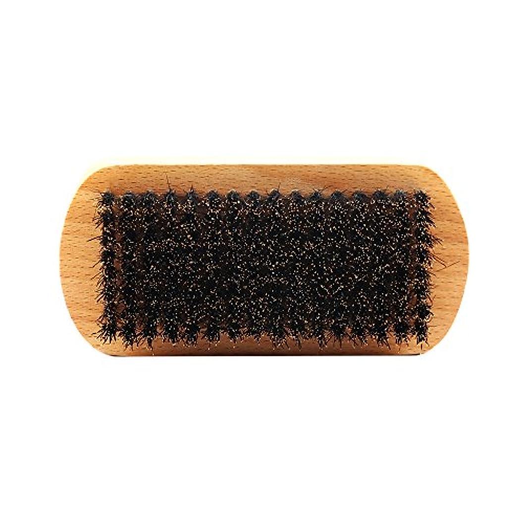 上ゆり蒸気ビュアブラシ 男性 ひげ剃り ブリスル 天然木ハンドル ひげそり 2タイプ選べる - #1