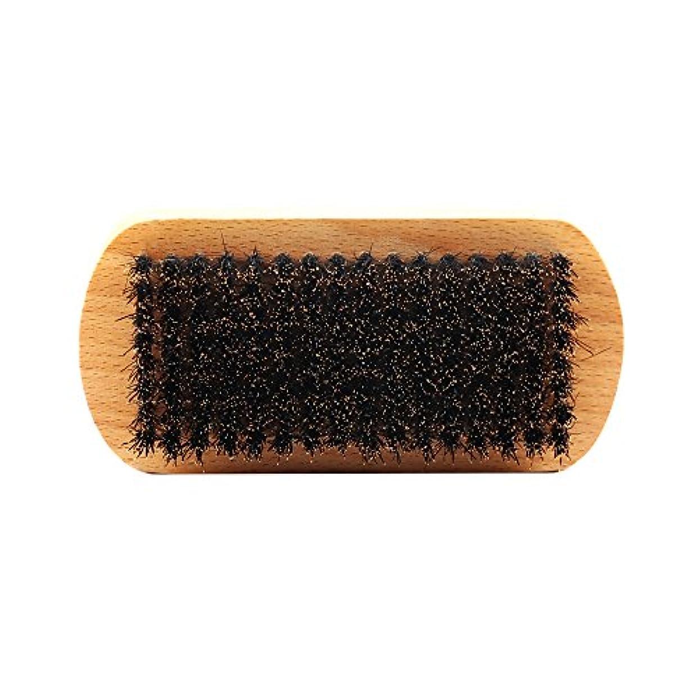 高速道路家庭明確にPerfeclan ビュアブラシ 男性 ひげ剃り ブリスル 天然木ハンドル ひげそり 2タイプ選べる - #1