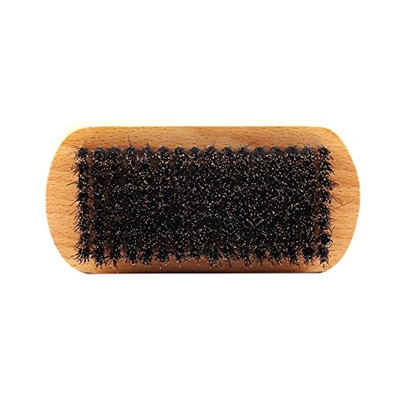 精神的に薬推進力Perfeclan ビュアブラシ 男性 ひげ剃り ブリスル 天然木ハンドル ひげそり 2タイプ選べる - #1