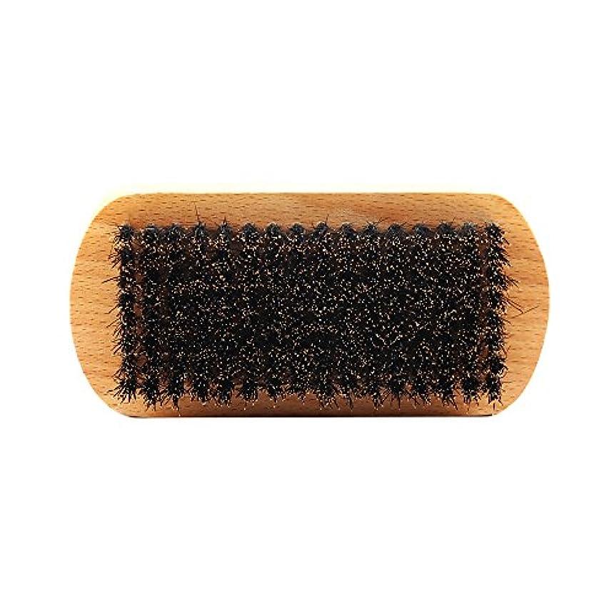 浴室商標読みやすさビュアブラシ 男性 ひげ剃り ブリスル 天然木ハンドル ひげそり 2タイプ選べる - #1
