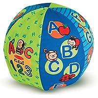 1ピース7.5インチマルチカラー2イン1 TalkingボールStuffedおもちゃ、かわいい音楽再生Sensory Counting Linguistic論理学習Communicative forキッズスモールサイズPlush Toy Soft Toy Playful、ポリエステル