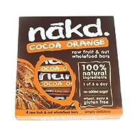 Nakd Cocoa Orange Multipacks (12 X 4 X 35G) by Nakd Bars