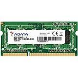ADATA ノート用増設メモリ PC3-12800 DDR3-1600(512x8) 4GB 1.5V 204pin SO-DIMM 無期限保証 AD3S1600W4G11-R