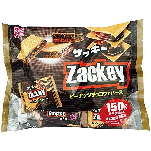 ハッピーポケット ザッキー ピーナッツチョコウエハース 150g×1袋