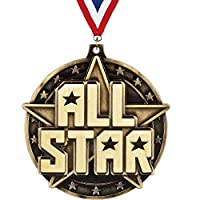 "All Star medal-2 "" - Great for Winner、配置、審査、Competition、認識"