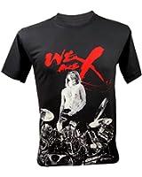 (レクトロ)Lectro メンズ Yoshiki We Are X Forever X Japan Rock Tシャツ 濃いグレー
