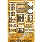 1/32 1/35 1960s 70s 80s クラシックビークル対応 コントロールパネルディテールアップエッチングセット PGX150
