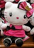 USJ 公式 限定 商品 《 ブラック&ピンクのドレス ハローキティ ぬいぐるみ 》 Hello Kitty グッズ