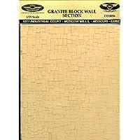 135th Construction Battalion 1 : 35 graniteブロック壁セクション8.5