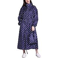 Buauty Womens Waterproof Rain Coat Hooded Lightweight Rain Jacket For Unisex