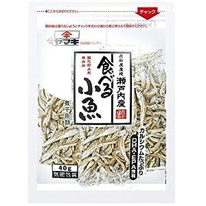 ヤマキ 瀬戸内産無添加食べる小魚 40g×4個