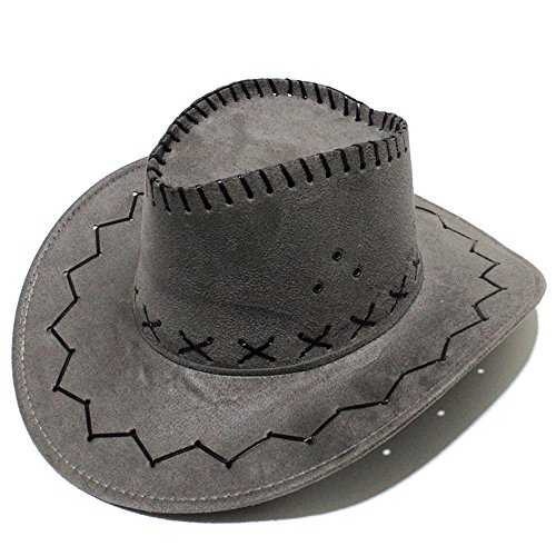 c7ba3d4904e Seliyi cowboy Cowgirl hat retro unisex denim Wild West Cowboy Cowgirl Rodeo  fancy dress accessories hat gray  Shopping for japanese item