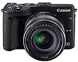 Canon ミラーレス一眼カメラ EOS M3 レンズキット(ブラック) EF-M18-55mm F3.5-5.6 IS STM 付属 EOSM3BK-1855ISSTMLK