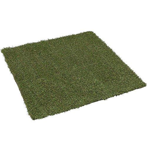 アイリスオーヤマ 国産 防草人工芝 芝丈3.5cm 1m×2m BP-3512 B07C79Q4WJ 1枚目