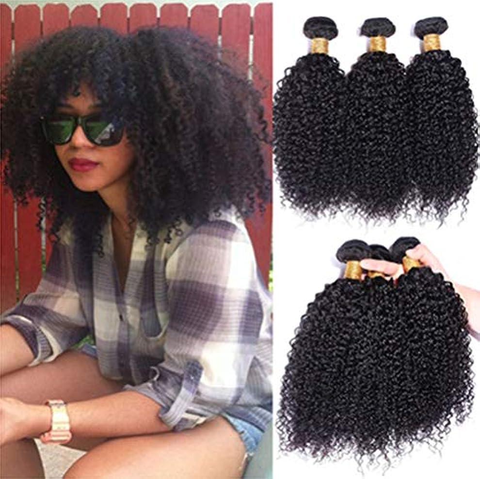きゅうり知っているに立ち寄る気まぐれな女性髪織り150%密度毛ブラジル巻き毛織り1バンドル8aグレードバージンレミー毛延長未処理