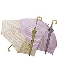 和装晴雨兼用傘ショートタイプ(UVカット) アイボリー 【日傘 紫外線カット UVカット 計量 花柄 シック 藤 和 晴雨兼用 雨傘 手開き】