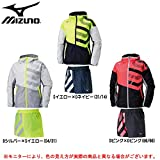 MIZUNO(ミズノ) W's ウィンドブレーカーシャツ ショートパンツ 上下セット 【レディース】 (32ME6710/32MF6710) (M, Dピンク×Dピンク(66/66))