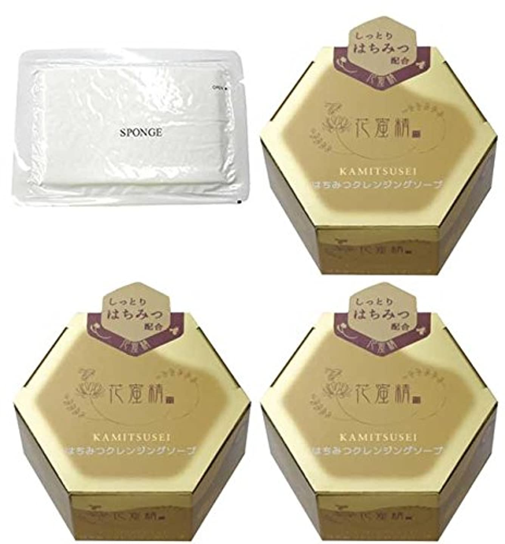 パンロードブロッキング唯一花蜜精 はちみつクレンジングソープ 85g 3個 + 圧縮スポンジセット