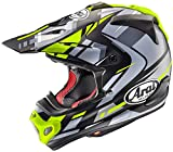 アライ (ARAI) ヘルメット オフロード Vクロス4 ボーグル 黄 55cm VX4-BOGLE-YE55