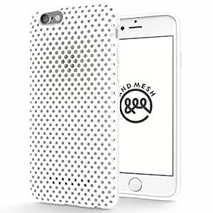 AndMesh iPhone 6s ケース メッシュケース ホワイト AMMSC621-WHT