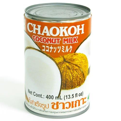 CHAOKOH チャオコー ココナッツミルク 400ml 缶詰
