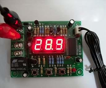 サーモスタット サーモスイッチ 温度調節器 センサー 換気扇