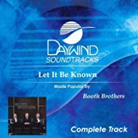Let It Be Known (complete track) [Accompaniment/Performance Track]【CD】 [並行輸入品]