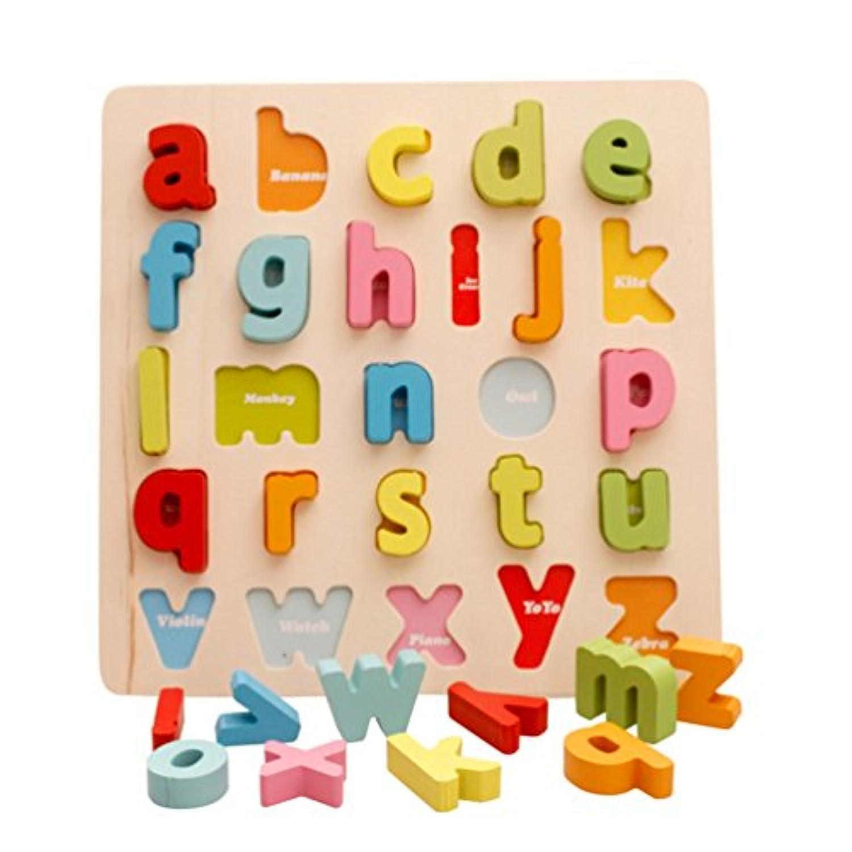[ドリーマー] 型はめ 木製立体パズル  積み木 形合わせ 数字/レター 計算力 色認知 カラフル マルチカラー 可愛い ベビー 赤ちゃん おもちゃ 早期開発
