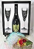 高級シャンパーニュ専門店銀座商会がご提供するDom Pérignon Legacy Edition 2008 750ml Flute Glasses Set 【正規代理店商品】(Gift Box 入り) ドンペリニヨン レガシーエディション 2008 フルートグラスセット(ギフトボックス入り)