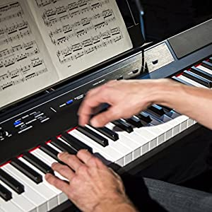 Alesis 88鍵盤 初心者向け電子ピアノ フルサイズ・セミウェイト鍵盤 Recital
