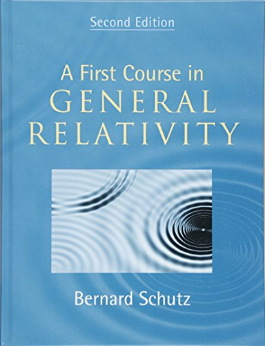 A First Course in General Relativityの詳細を見る