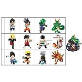 DRAGONBALL×ONEPIECE×NARUTO無敵の3×3フィギュア BOX (食玩)