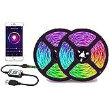 Bluetooth 3M RGB LED Strip Lights 5050 5V USB Color Changing TV PC Back Light