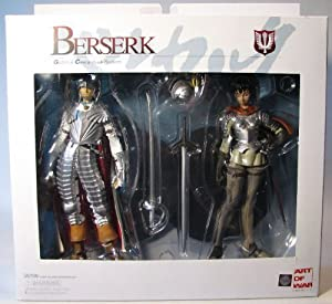 Yamato Art of War Berserk Griffith+Casca Hawk Soldiers by Yamato [並行輸入品]