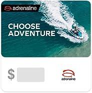 Adrenaline Gift Card - Delivered via email