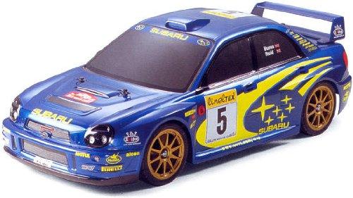 1/10 電動ラジオコントロールカー シリーズ インプレッサWRC2001(完成ボディ)