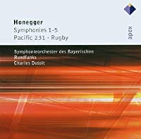 Honegger: Symphonies 1-5; Pacific 231; Rugby (2006-08-22)