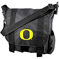 Concept One NCAA Oregon Ducksチームロゴおむつバッグwith Changing padncaaチームロゴおむつバッグwith Changing Pad、ブラック、15