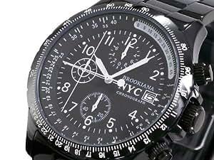 [ブルッキアーナ] BROOKIANA 腕時計 クロノグラフ BA1632-BK[並行輸入品]
