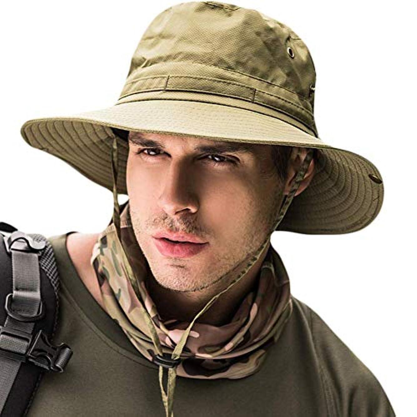 一次すすり泣き荒廃するサファリハット メンズ ハット 帽子 つば広 大きいサイズ 速乾?軽薄?通気性抜群?紫外線対策?折りたたみ あご紐付き アウトドア 釣り ハイキング 登山 レディース 男女兼用