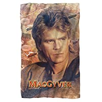 MacGyver / Tools of the Trade – Poly 36 x 60 Blanket – ホワイト – 1サイズby Trevco