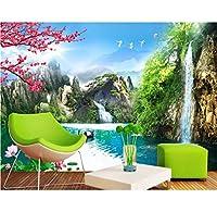 Weaeo 高山風景壁紙壁画中国の印刷3D壁紙リビングルームホームインテリア写真3D-280X200Cm