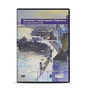 Atmospheric Coastal Watercolour Landscapes DVD with Robert Brindley RSMA