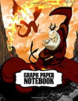 Graph Paper Notebook: Soft Glossy Graph Paper Notebook The Last Airbender Aang Katara Sokka Drawing Photo Artwork with Grid Paper for Math & Science Students 8.5 x 11 in large (21.59 x 27.94 cm)