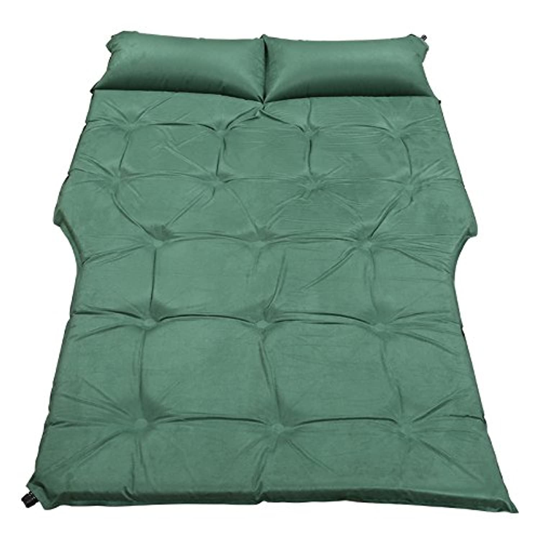 CGN インフレータブルベッドSuvの車のベッド、屋外の寝台マットトラベルベッドの車のマットキャンプ防湿パッドの休暇の自動車用品190 * 126センチメートル折りたたみポータブル 持ち運びが容易 ( 色 : #4 )