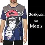( クラシカルエルフ ) Classical Elf デシグアル メンズTシャツ トップス 半袖 メンズ Tシャツ プリント サル おもしろ 57t14g3