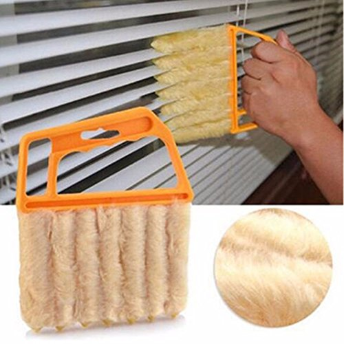 [해외]NEW Useful Microfiber Window cleaning brush air Conditioner Duster cleaner with washable venetian blind blade cleaning cloth Free shipping/NEW Useful Microfiber Window cleaning brush air Conditioner Duster cleaner with washable ven...